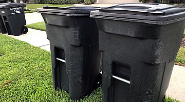 Clean Trash Bins