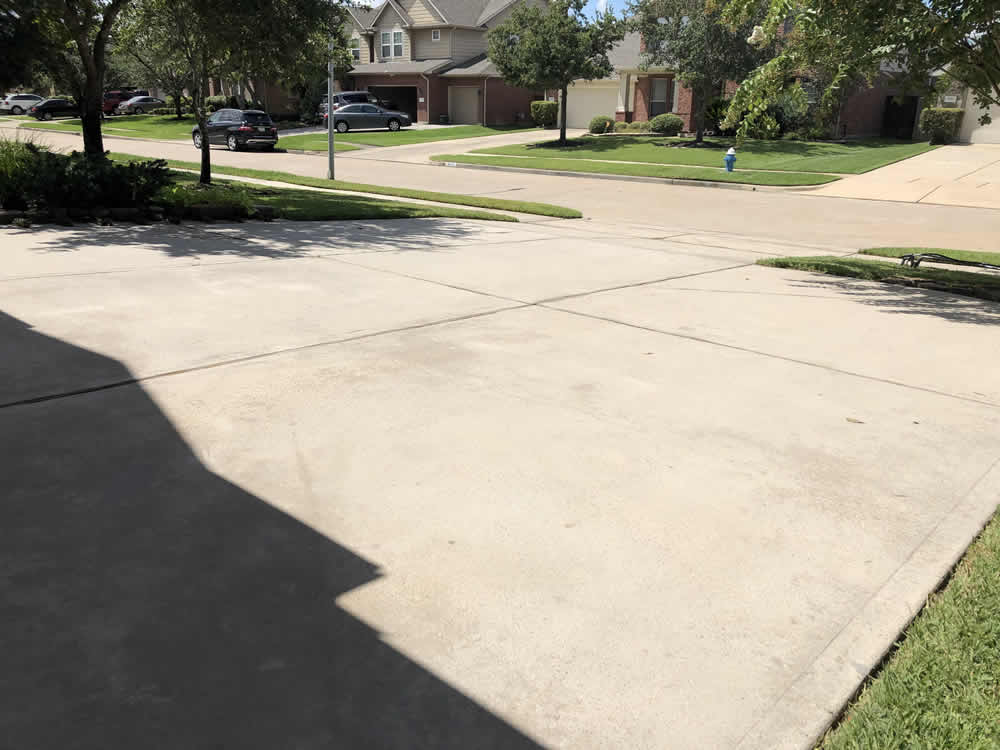 Driveway 2 After