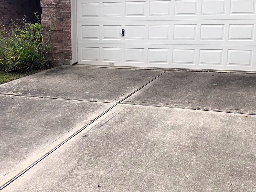 Driveway Before